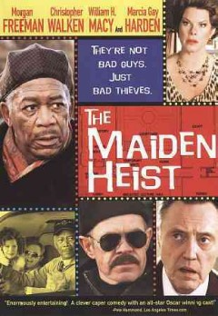 The maiden heist cover image