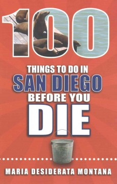 100 things to do in San Diego before you die cover image