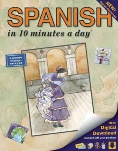 Spanish in 10 minutes a day cover image