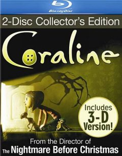Coraline [Blu-ray + DVD combo] cover image
