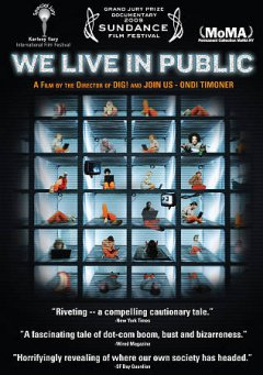 We live in public cover image
