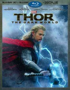 Thor. The dark world [3D Blu-ray + Blu-ray combo] cover image
