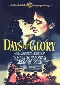 Days of glory Jours de gloire cover image