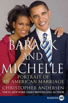 Barack and Michelle portrait of an American marriage cover image