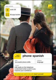 Teach yourself phone Spanish cover image