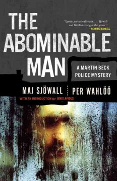 The abominable man : a Martin Beck mystery cover image