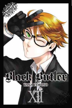Black butler. 12 cover image
