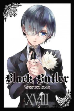 Black butler. 18 cover image