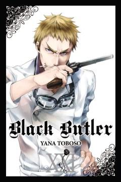 Black butler. 21 cover image
