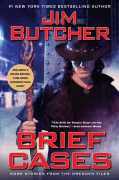 Brief cases : more stories from the Dresden files cover image