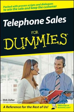 Telephone sales for dummies cover image