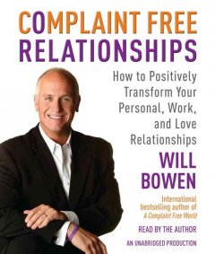 Complaint free relationships cover image