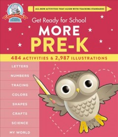 Get ready for school. More pre-K cover image