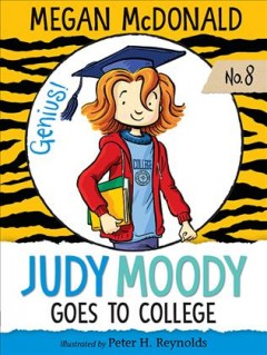 Judy Moody goes to college cover image