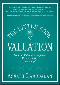 The little book of valuation : how to value a company, pick a stock and profit cover image