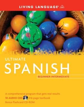 Ultimate Spanish beginner-intermediate cover image