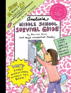 Amelia's middle school survival guide cover image