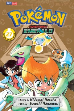 Pokémon adventures. Emerald. Volume 27 cover image