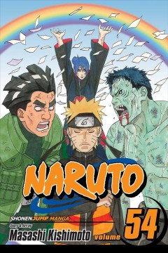 Naruto.  54,   Peace viaduct cover image