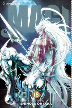 Magi : the labyrinth of magic. 18 cover image