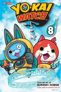 Yo-Kai Watch. 8, A boohoo battle cover image