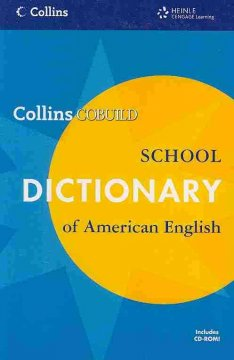 Collins COBUILD school dictionary of American English cover image