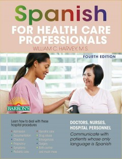 Spanish for health care professionals cover image