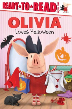 Olivia loves Halloween cover image