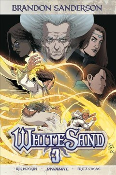 White sand. Volume 3 cover image