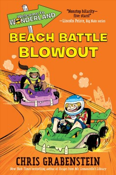 Beach battle blowout. Book 4 cover image