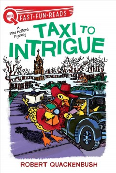 Taxi to intrigue cover image