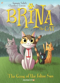 Brina the cat. The gang of the feline sun cover image