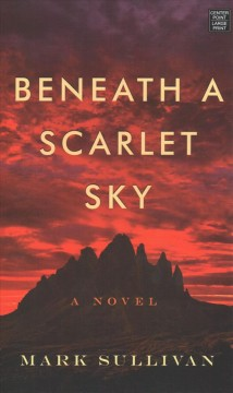 Beneath a scarlet sky cover image