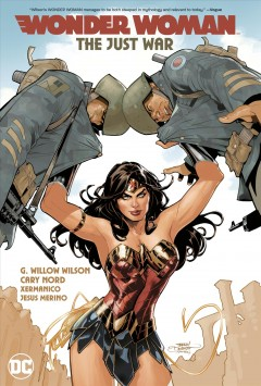 Wonder Woman, The just war. 1 cover image