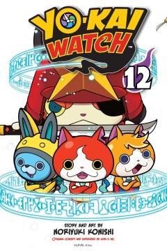 Yo-kai watch. 12, Bashful yo-kai Mr. Blue-Shy cover image
