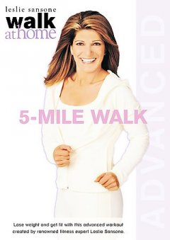 Walk at home with Leslie Sansone. 5-mile advanced walk cover image