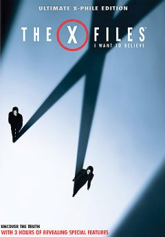 The X-files I want to believe cover image