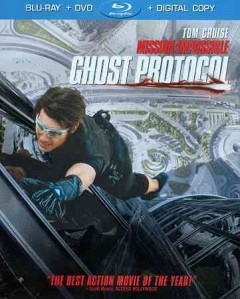 Mission impossible [Blu-ray + DVD combo] Ghost protocol cover image