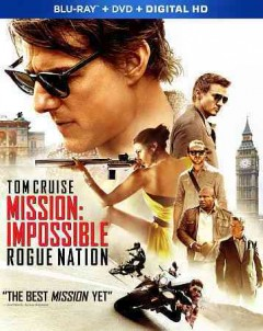 Mission: Impossible. Rogue nation [Blu-ray + DVD combo] cover image