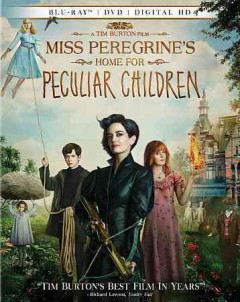 Miss Peregrine's Home for Peculiar Children [Blu-ray + DVD combo] cover image