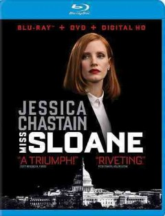 Miss Sloane [Blu-ray + DVD combo] cover image