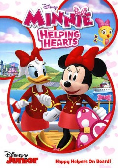 Minnie helping hearts Happy Helpers on board cover image