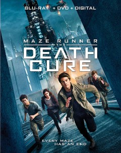 Maze runner. Death cure [Blu-ray + DVD combo] cover image