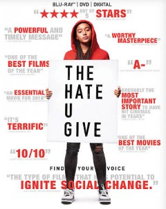 The hate U give [Blu-ray + DVD combo] cover image
