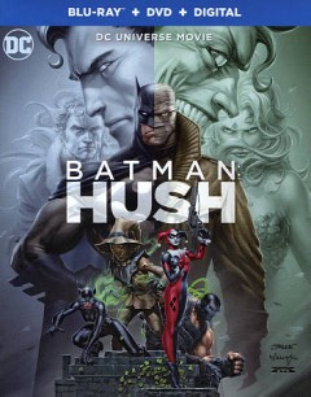 Batman. Hush [Blu-ray + DVD combo] cover image