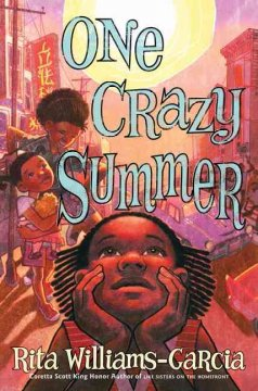 Book jacket for One crazy summer