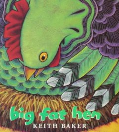 Book jacket for Big fat hen /