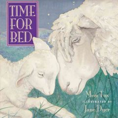 Book jacket for Time for bed /