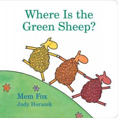 Book jacket for Where is the green sheep?