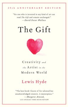 Book jacket for The gift :